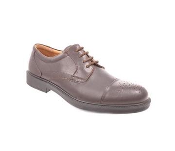 کفش مردانه شیفر مدل 7401F قهوه ای