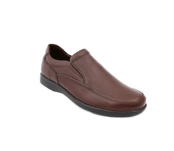 کفش مردانه شیفر مدل 7193A قهوه ای