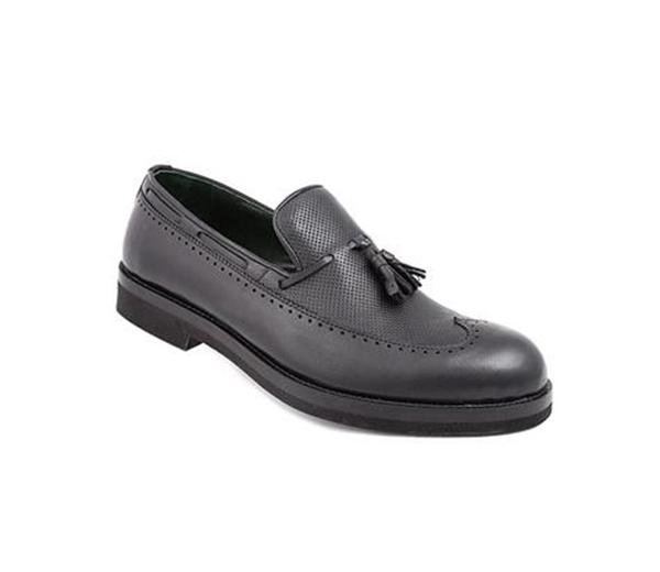کفش مردانه شیفر مدل 7184A مشکی
