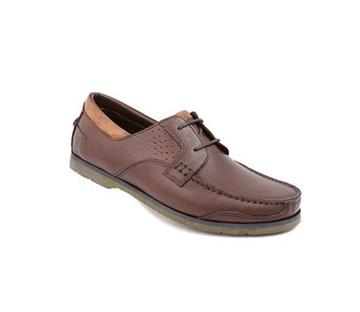 کفش مردانه شیفر مدل 7181A قهوه ای