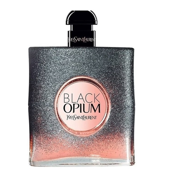 تصویر ادوپرفیوم زنانه ایو سن لوران مدل Black Opium Floral Shock حجم 90 میلیلیتر