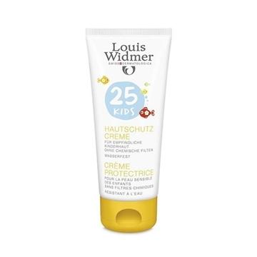 کرم ضد آفتاب محافظت کننده کودکان با spf 25 بدون عطر لویی ویدمر حجم 100 میلی لیتر
