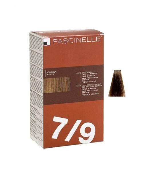 تصویر کیت رنگ مو فشینلی سری Brown مدل قهوه اي روشن شماره 7.9