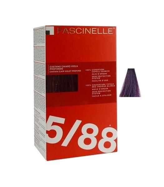 تصویر كيت رنگ مو فشینلی سری Fashion بنفش بادنجاني شماره 5.88