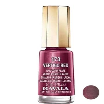 لاک ناخن ماوالا مدل VERTIGO RED شماره 173