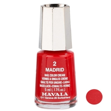 لاک ناخن ماوالا مدل Madridi شماره 2