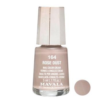 لاک ناخن ماوالا مدل Rose dust شماره 164