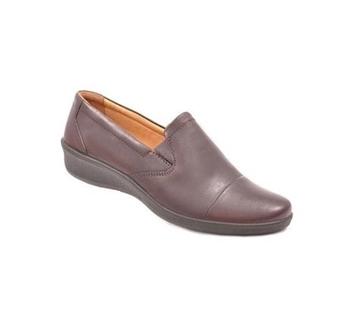 کفش زنانه شیفر مدل 5401A قهوه ای