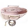 تصویر کیف توری بورچ مدل Stud small satchel صورتی