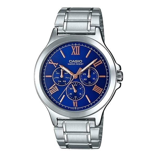 تصویر ساعت مچی مردانه کاسیو مدل CASIO – MTP-V300D-2A
